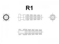 Гибкий ввод R1